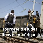 Ville de Bojay. Etat d'Hidalgo. Maison d'accueil des migrants de Bojay. Elle est située à proximité de la voie férrée et de l'arrêt de train où les migrants vont tenter de monter dans le train.c'est donc un lieu stratégique. Avec SJM (Services Jesuites Migrants) partenaire du Secours Catholique. Une maison d'accueil qui aident les migrants de passage, repas, lit pour se reposer, téléphone, aide, conseil juridique, droits, écoute psychologique. Ici les migrants montent dans le train, après être passés entre les mains de la police privée, soit disant pour les protéger, plus surement pour les racketter.