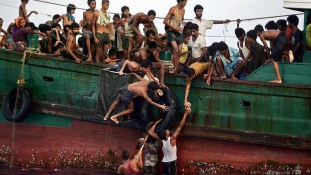 migrants mer d'Andaman